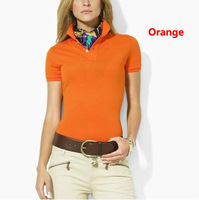 Free Shipping Cool Polo Lady Woman T-Shirt Casual Women's Polo T Shirts Female Short Sleeve Women tshirt 2013