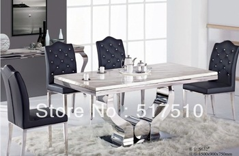 Stainless steel dining table wholesale