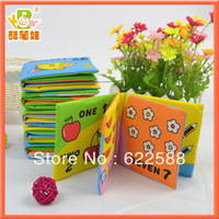 Hot Sale Free Shipping Early Cognitive Small Size 6pieces/set Cloth Book,fabric books for kids
