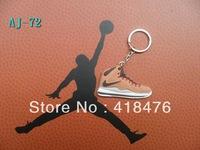 Free shipping,Wholesale LBJ10 LeBron X Shoes Keychain, James Keychain