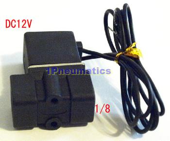 "Free Shipping 1/8"" NPT Plastic Nylon Solenoid Valve Water Air 12 VDC 2P025-06"