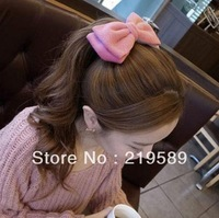 # Women Accessories woolen bow hairpin three colors,Free shipping