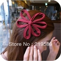 # Cute flower hairpin,More colors for selectin ,10pcs per pack,Free shipping