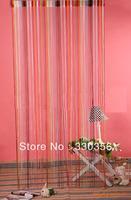 Fashion color line curtain decorative curtain 1m * 2m