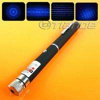 Free Shipping 50mw 5 in 1 blue laser pointer TD-BP-17B