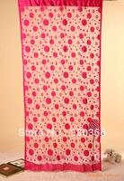 Fashion cloth curtain round circle line curtain decorative curtain 1m * 2m