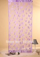 Fashion curtain Butterfly Feifei line curtain decorative curtain 1m * 2m