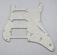 1pcs Pearl White Strat Style Pickguard Guitar Pickguard HSS M224