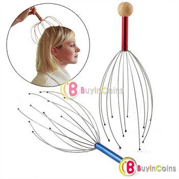 3 x Head Neck Scalp Equipment Stress Relax Massage Massager #3350