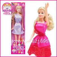 Hot selling 3pcs/lot High Quality Cute Shirley Girl Pretty Bobby Dolls Anti-real Doll Children Toys Birthday Gift Box S90014K