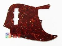 1pcs Brown Tortoise Shell Jazz Bass JB Style JB Pickguard 3Ply 10Hole M651