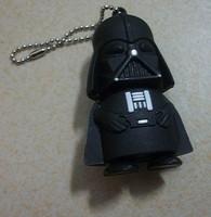 Free shipping (10pcs/lot )  Star Wars darth vader  model Usb 2.0 memory flash stick 2-16GB usb flash pen drive