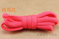 24 color semi shoelace, casual shoes laces, length 120cm ,10 pairs/lot,mix colors,Do not fade,Hot saleFREE SHIPPING