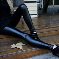 Multicolour faux leather pants super soft beaver velvet thickening legging matte ultra elastic boot cut jeans