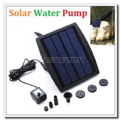 High quality Solar Power Water Pump Decorative Fountain for Garden Pond Pool Water Cycle 7.2V Dropshipping(China (Mainland))