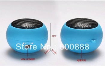 [ Promotion mini speaker ] New CP brand HIFI cute computer speaker more colour portable Free shipping