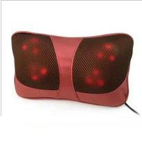Massagem cintura envio gratuito de massagem cervical dispositivo de massagem travesseiro carro dispositivo pescoço vehienlar eletrodomésticos travesseiro portátil(China (Mainland))