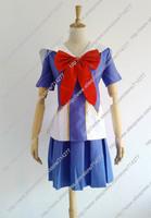Free shipping Custom cheap Gasai Yuno Cosplay costume from future diary Anime clothing