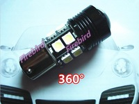 2 X 1156/ P21W CREE 9W cold white led auto reverse lights, turn signal lights, with lens 360 degree lighting, free shipping!