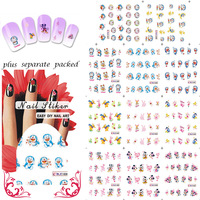 New Arrival! Doraemon & Mickey Cartoon  Nail Art  sticker Design Nail stickers/ water transfer Nail art  wholesale