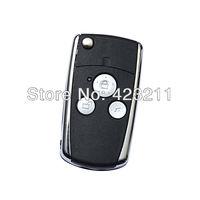 Blank Folding Remote Key Shell Case For Honda Accord Pilot CR-V Civic 3BT  FT0103