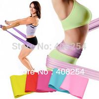 Latex Fitness Flat 3 Resistance BAND Elastic Stretch Band Yoga Pilates Exercise Workout Tubing