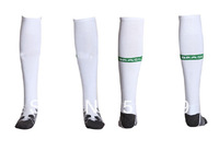 TOP Thailand quality original brazil white  soccer socks, original brazil white socks Towel bottom football socks