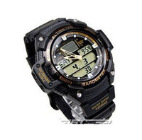 Free Shipping |  watches men  a waterproof mountaineering sports watch rubber e - male table SGW - 400 - h - 1 b2