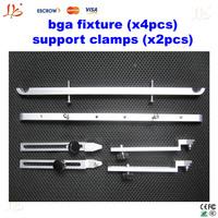 Free shipping! support Jig BGA fixture (x4pcs) Bottom support toggle clamp (x2pcs) For IR6000 IR6500 IR9000 etc
