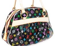 Free shipping, Colorful letter women's brand handbag fashion handbag bag brand designer three-color
