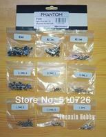DJI Phantom Spare Parts No.16 : Screw Pack (M3*8 + M2.5*5 + M2.0*8 + 3.0*6.5 + 2.0*6.5 + 2.0*4.5 + 1.6*6.0 + 1.6*4.5 + 1.6*4)
