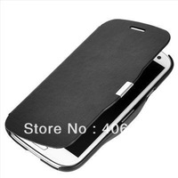 Slim Magnetic Flip Leather Case Cover for Samsung Galaxy S4 i9500, 5 Colors,High Quality 10pcs/lot  Free Shipping