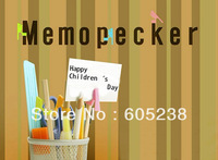 Wholesale 20 sets Children day gift memo pecker Pencil Stationery Gift Set Memopecker
