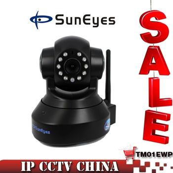 10pcs/lot SunEyes 1.0 Megapixel IP Camera Wireless 720P HD Network CCTV Camera Plug and Play P2P SP-TM01EWP
