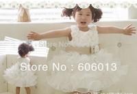 YY2013 girl dress Flower Princess laminated wedding baby dresses girls party girl tutu dress