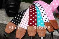 Lovely Korean edition,camera shoulder strap suitable for NEX5N X100S EPM1 GX1 V1 V2 J1 J2 EM5 650D 700D DSLR camera strap AR