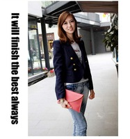 Free shipping Womens Envelope Clutch Chain Purse Lady Handbag Tote Shoulder Hand Bag  13colors