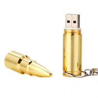 Free Shipping Enough  Cartoon USB 2.0 Memory  Bullet Flash Pen Drive 4G 8G