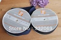C145 diy accessories 100% cotton herringbone tape one roll 30 meters, decorative black & blue grosgrain christmas ribbon