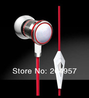 in ear headphones with control talk earphone for ipod iphone headphones for mp3 with retail Box 10pcs/lot dhl ems free shipping
