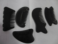 natural small size Bian stone combs