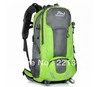 Buy one get two Free shipping 2014 Bag 50L mountaineering hiking camping backpack  travel backpack