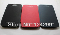 Free Shipping New  For Samsung Galaxy S3 SIII GT i9300 Luxury Flip Leather PU skin Back Cover Battery Housing Case