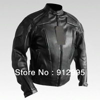 HOT mens leather jacket mandarin collar  riding suit motorcycle jacket in stock