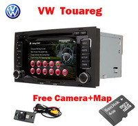 3G Car stereo for VW Touareg with 3G GPS Bluetooth Radio TV USB SD IPOD RDS Canbus  free OEM rear view camera+ Free shipping