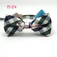 Free shipping,Excellent quality,Men Plaid Large Check Cotton Wedding Pre-tie Bowtie Tie Bright Red White Black