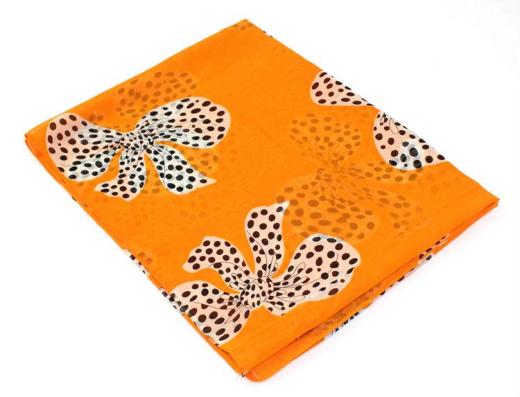 free shipping 2013 new fashion spring summer women's scarves chiffon scarf bowknot print pashmina shawl GOOD QUALITY wholesale(China (Mainland))
