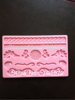 free shipping New arrival Silicone Mold Nature Fondant and Gum Paste Mold Cake Decoration Mold Gum Paste Mold Sugarcraft