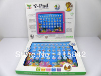 Free shipping -Y pad ypad tablet computer for kids as gift toy ,Y pad English & Spanish Bilingual Tablet , 60 psc/lot