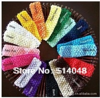 24pcs/lot Crochet Head Bands, baby Headbands , baby hair accessories and children&kids Headbands